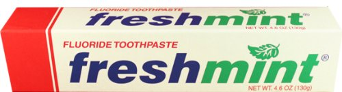 Freshmint 4.6 Oz Individual Box Toothpaste , Case of 60 by Freshmint (Image #1)