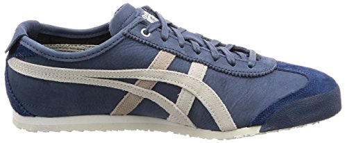 Onitsuka Tiger Unisex Adults' Mexico 66 Running Shoes, Blue Blue