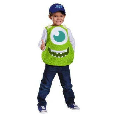 Disguise Monsters University Mike Toddler Halloween Costume (SMALL (2T)) ()