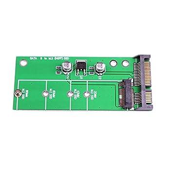 Febelle SATA III 3 a M.2 (NGF) - Tarjeta adaptadora SSD ...