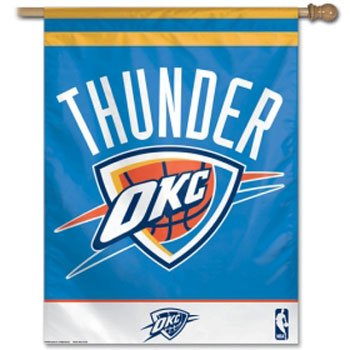 Oklahoma City Thunder Official NBA Banner Flag by Wincraft