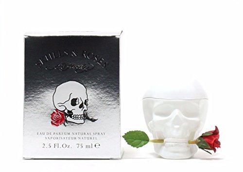 New SKULLS & ROSES by Ed Hardy 2.5 Oz Eau De Parfum (EDP) Spray for Women ()