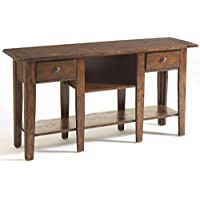 Broyhill Attic Sofa Table, Rustic Oak
