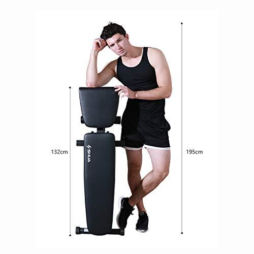 Mesa de pesas plegable silla de fitness equipo deportivo casa con mancuernas banco abdominal tablero del músculo abdomen tablero supino plegable Bancos ...