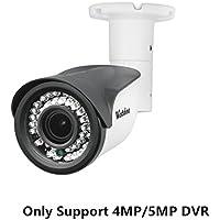 Westshine 4MP 4-in-1 Security Bullet Camera 1/3 Sensor 2.8-12mm Varifocal Lens 42 LEDs IR Cut 130ft Night Vision Outdoor Indoor Surveillance Cameras with OSD Menu (Varifocal 4MP)