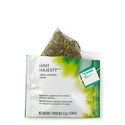 Teavana Mint Majesty Full Leaf Sachet Tea Bags, 12 Count