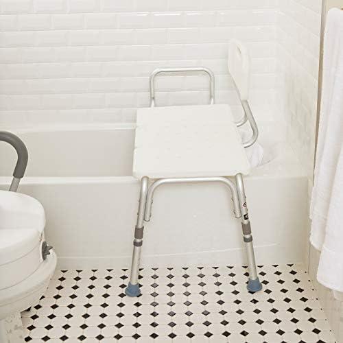 Amazon.com: Carex - Banco de transferencia para bañera con ...