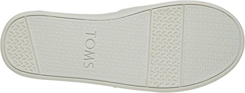 TOMS Youth Alpargata Canvas Printed Espadrille, Size: 4.5 M US Big Kid, Color Navy Forest Tribal - Image 2