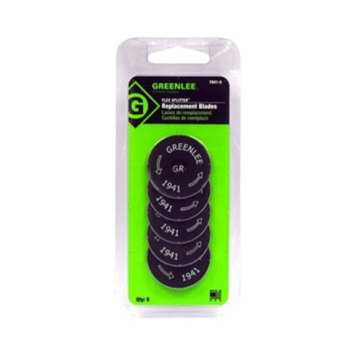 Greenlee 1941-5 Replacement Blades for 1940, 5 Pack