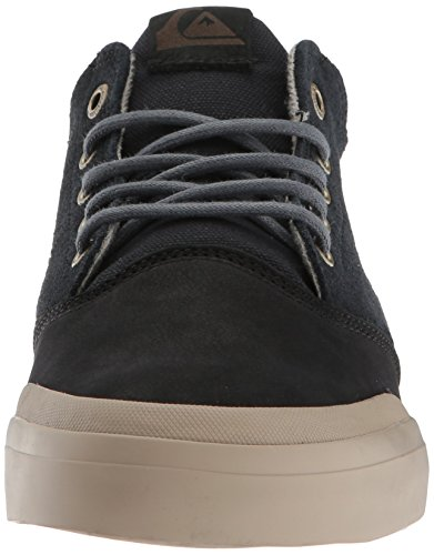 Men's Quiksilver Deluxe Verant Grey Skate Grey Grey Mid Shoe Pffdw1pzqx