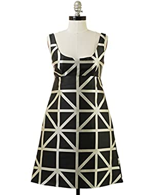 Roxanne Dress in Black White