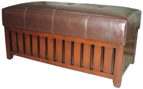 ORE International HB4152 Storage Bench, Finished Wood