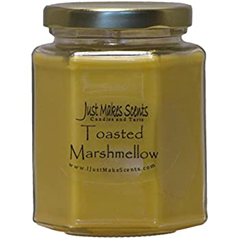 Just Makes Scents Toasted Marshmallow Scented Blended Soy Candle