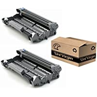 UniVirgin New Replacement for Brother TN580 TN620 TN650 Toner Cartridge for use in Brother TN-650 HL-5370DW HL-5340D DCP-8065DN HL-5240 HL-5250DN - 3 Pack