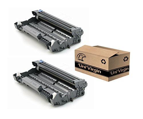 (Univirgin Compatible DR520 DR620 Drum Unit Replacement for Brother DR-520 (DR520) & DR-620 (DR620) for use with TN550 TN580 TN620 TN650 Toner Cartridge - 25,000 high Yield, 2-Pack)