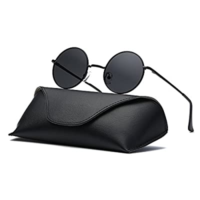 Ray Parker Fashion Classic Vintage UV Protection Round Mirrored Polarized Lens Sunglasses for Men RP8024 RP0967