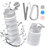 Best Collapsible Water Bottles - Collapsible Foldable Water Bottle - BPA Free FDA Review