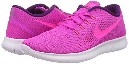 Rosa Da Donna Wmns Scarpe Corsa Free Glow Nike Weiß Rn blau pink Blast pink 6q4d0