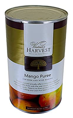 Vintner's Harvest Fruit Puree - Mango 3 lbs 1 oz.