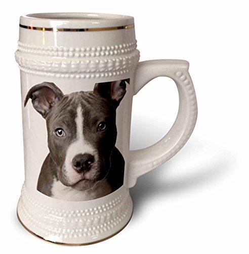 Pit Bull Beer (Dogs Pitbull - American Pit Bull Terrier Puppy - 22oz Stein Mug (stn_4240_1))