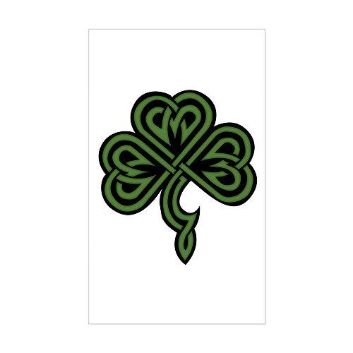 Rectangular Celtic Knot - CafePress - Shamrockknot Rectangle Sticker - Rectangle Bumper Sticker Car Decal
