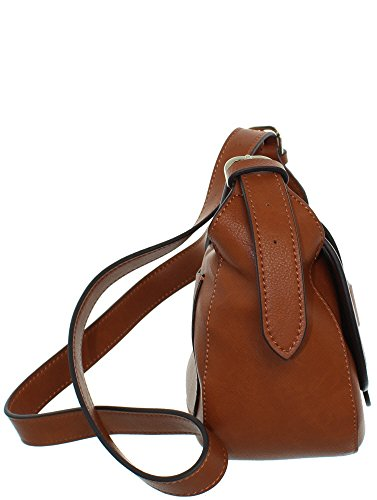 Shane Hwvg6783780 Cognac Flap Crossbody Mini Guess pWndc
