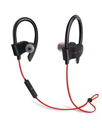 HD Sound Wireless Bluetooth Headphones Headset Earphone For Mens and Women With Mic Fit and Comfortable Best Sports GYM Earphones Waterproof Noise Cancelling Long Working Time
