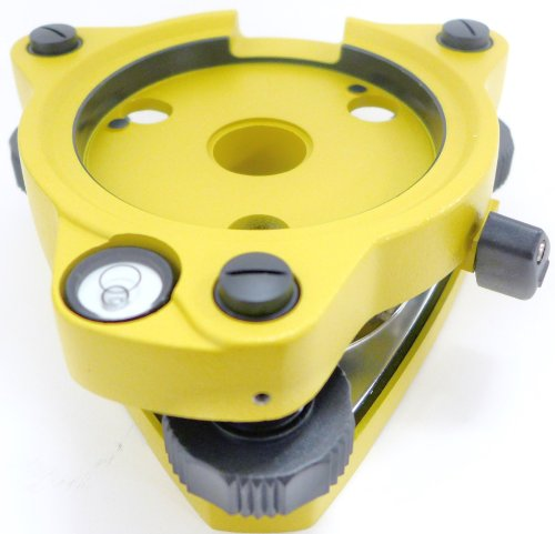 AdirPro Twist Focus Tribrach Without Optical Plummet - Yellow by AdirPro (Image #5)