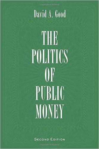 Second Edition Politics of Public Money