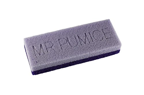 Mr. Pumice Ultimate Pumi Bar (4 Pack): 2-in-1 Callus Remover, Pedicure Stone & Ped File Scrubber for Smooth Feet and Heels, Dual-Grit (Medium + Coarse)