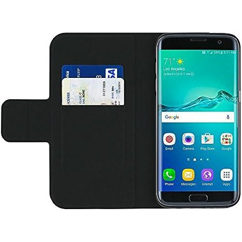 Incipio Breve Folio Built-in Card Slot/Holder & Kickstand for Samsung Galaxy S7 edge - Black Sales