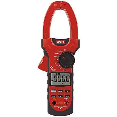 Signstek UNI-T UT208A Professional Auto/Manual Range Digital Clamp Multimeters w/ Capacitance Temperature Test with Test Lead