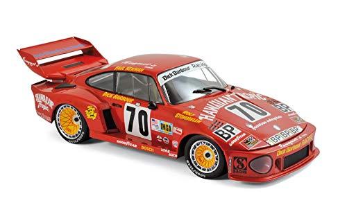 Norev Porsche 935 #70 Paul Newman/ D. Barbour/ R. Stommelen Hawaiian Tropic 2nd Place Le Mans France 24H (1979) 1/18 Diecast Model Car 187436