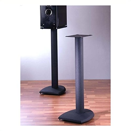 Sanus Systems DF24 Speaker Stands with NuStone Base (1-Pair, 24 Inch)