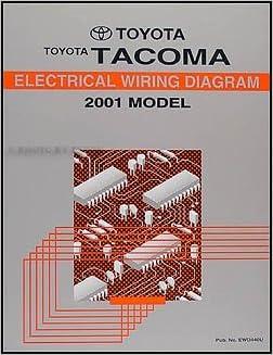 2001 toyota tacoma pickup wiring diagram manual original toyota 2001 toyota tacoma pickup wiring diagram manual original toyota amazon books swarovskicordoba Gallery
