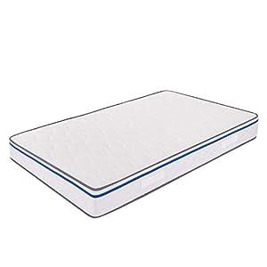 Miasuite – Materasso in Memory Foam 120×190 alto 22 Cm una piazza e ...