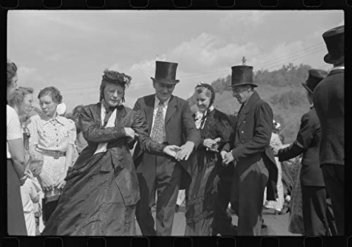 Vintography Reproduced Photo of Old Fashioned Dances at The World39;s Fair in Tunbridge, Vermont 1941 Delano C Jack 85a by Vintography (Image #1)