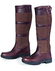 Shires Ladies Broadway Long Leather Boots