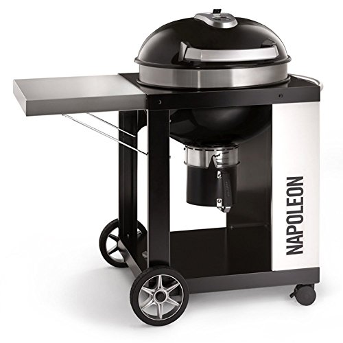 Napoleon Grills Rodeo Pro Cart Charcoal Kettle (Kettle Bar B-que Charcoal Cart)