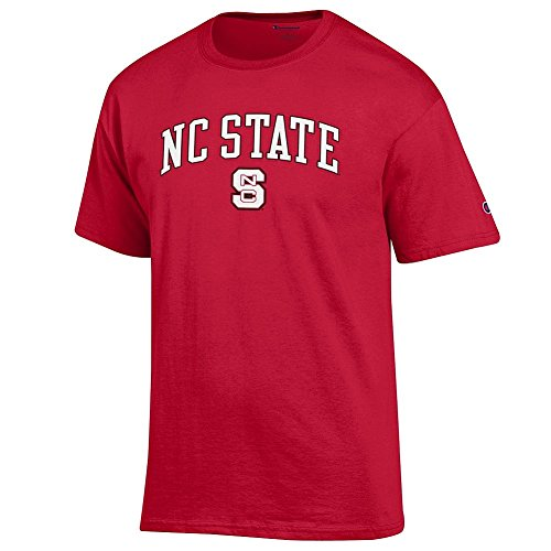 NC State Wolfpack Tshirt Varsity Red - L (Nc State Apparel University)