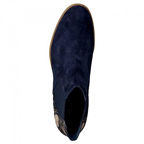 environ 26 Bottes A il 25310 cm bleu blau nubuck Touch 806 2 37 Chelsea 5 marine Gr semelle 41 Tamaris 1 SaCwqIq