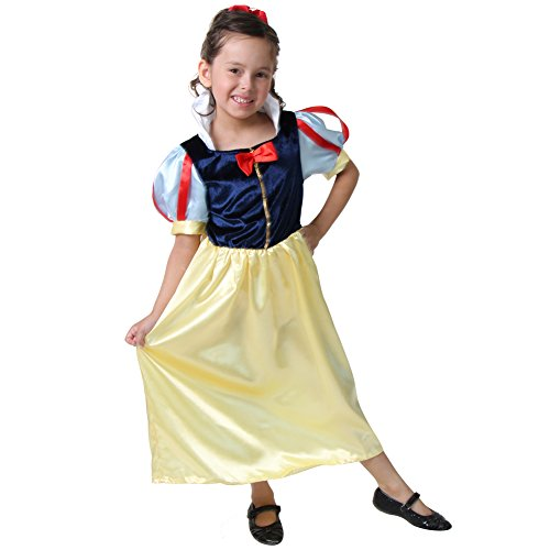 Storybook Snow White Costumes (Storybook Wishes Yellow & Red Snow White Dress Size 4/6)