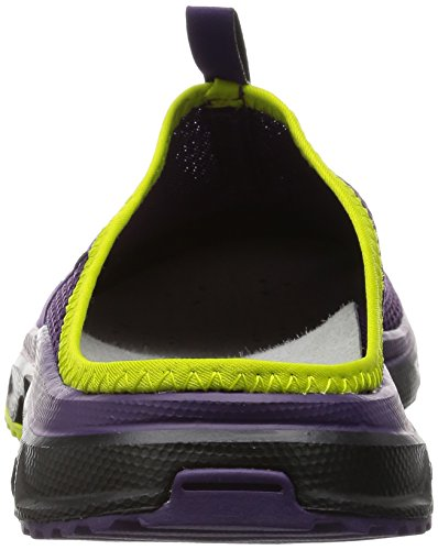 Salomon Rx Slide 3.0 Zapatillas, Mujer Morado (Cosmic Purple/Black/Gecko Green)