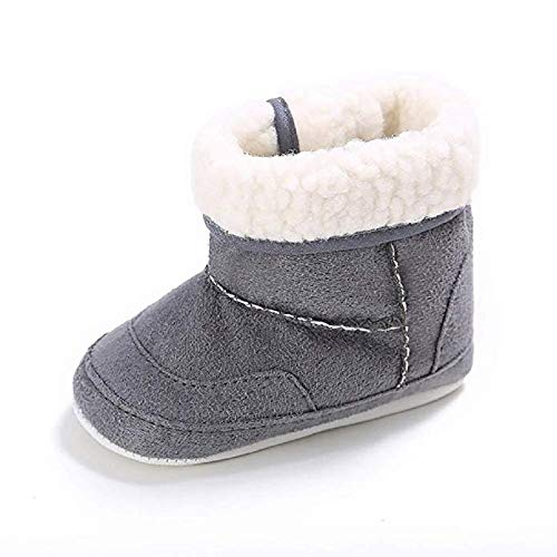 Pictures of Meckior Infant Baby Girls Winter Snow Booties 1