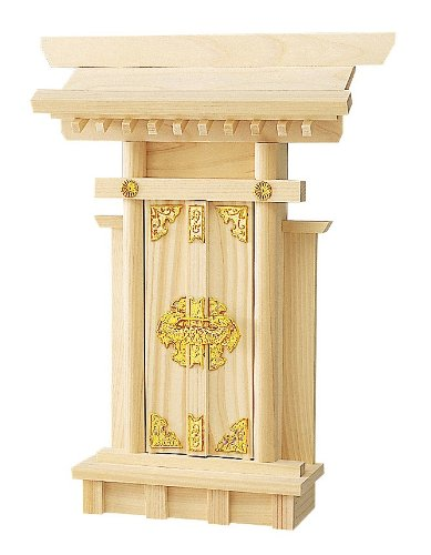 Miniature Kamidana Golden Ornament Ver. Japanese Shinto Shrine God Shelf 023 with English Kamidana PDF