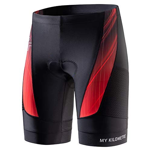 Race Cycling Short - MY KILOMETRE Triathlon Shorts Mens 9