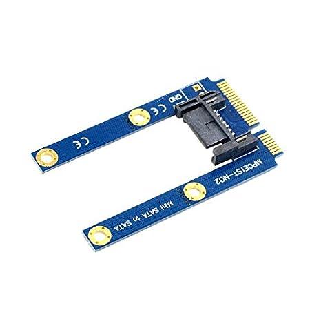 CY 50 mm Mini PCI-E MSATA SSD a soporte de adaptador de extensión ...