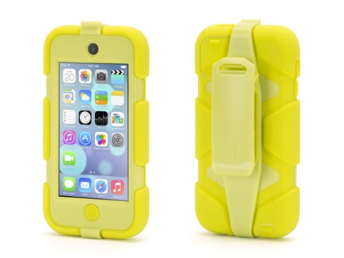 Griffin Citron Survivor All-Terrain Heavy Duty Case for iPod touch (5th/ 6th gen.) - Extreme-duty case Griffin Ipod