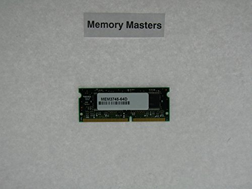 MEM3745-64D 128MB Approved Flash Upgrade for Cisco 3745 Routers(MemoryMasters) ()