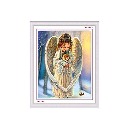 Baiyu DIY 5D Diamond Painting Angel / Dancer - Home Sweet Home Crewel Kit